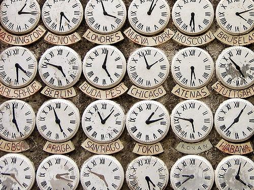 tiempo en contra